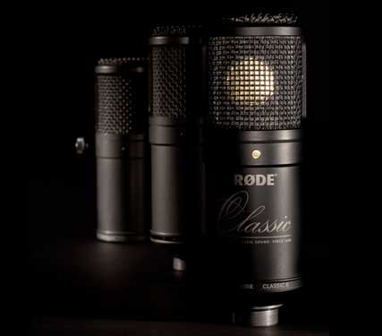 rØde microphones the limited edition classic ii
