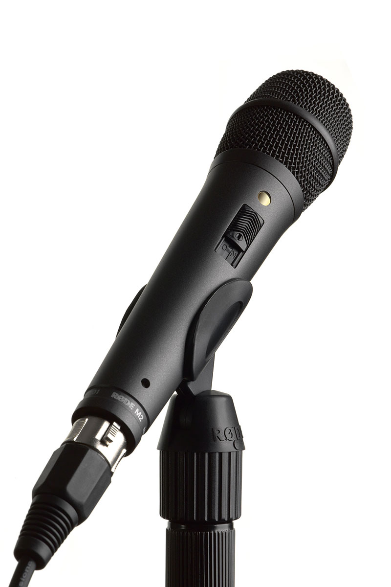 Rode M2 kondenzátor mikrofon élő alkalmazásokhoz