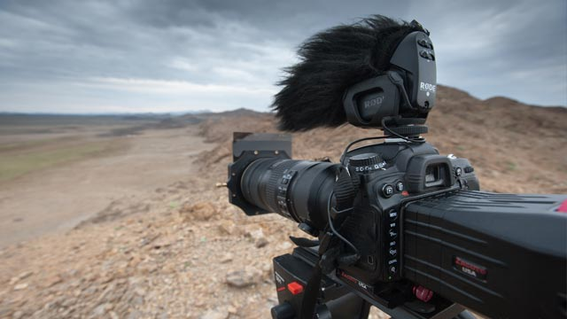 The RØDE VideoMic Pro